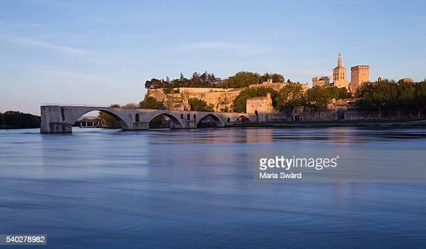 Pont d'Avignon Sunset, Avignon, southern France