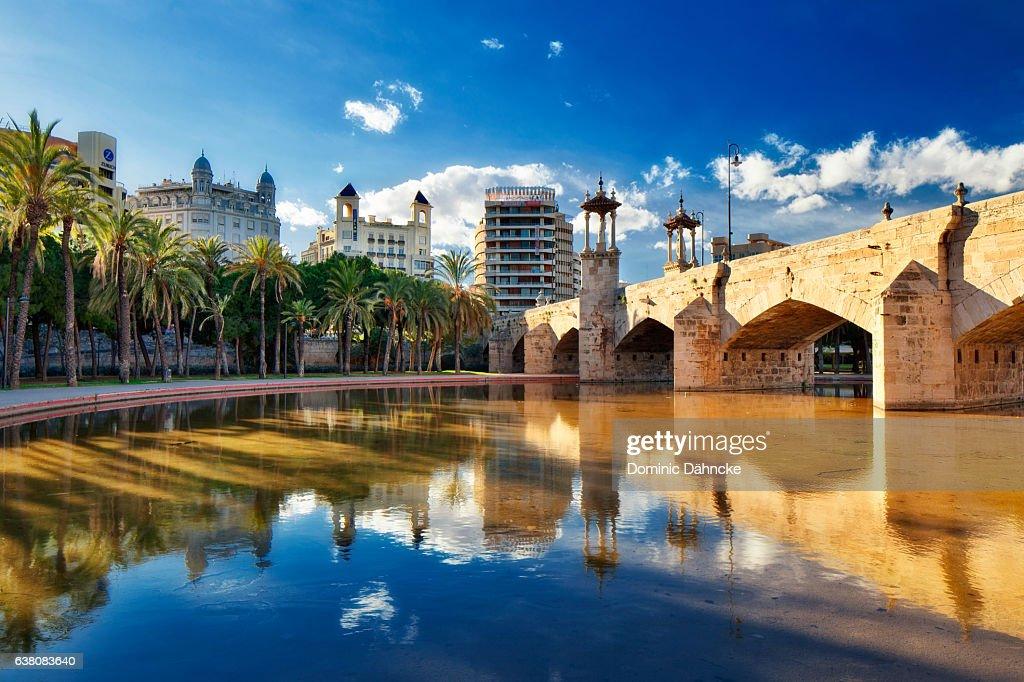 """Pont de Mar"" bridge (Valencia. Spain) : ストックフォト"