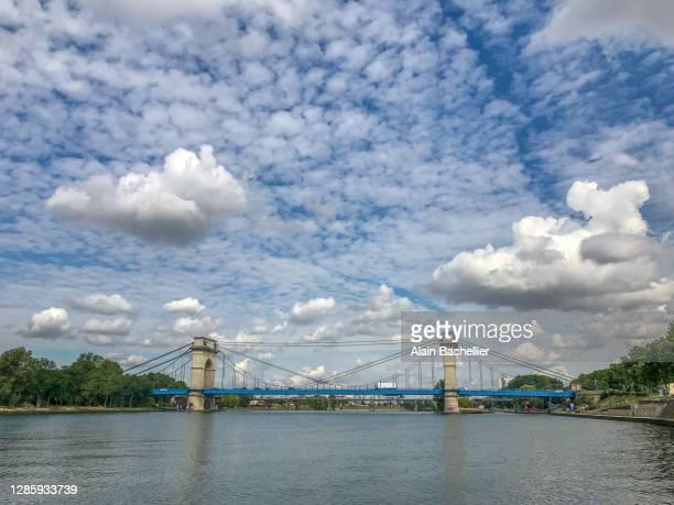 pont de port à l'anglais - alain bachellier photos et images de collection