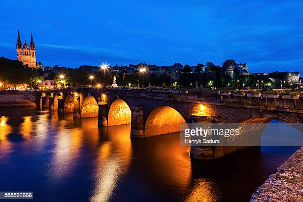 Pont de Verdun and Angers Cathedral