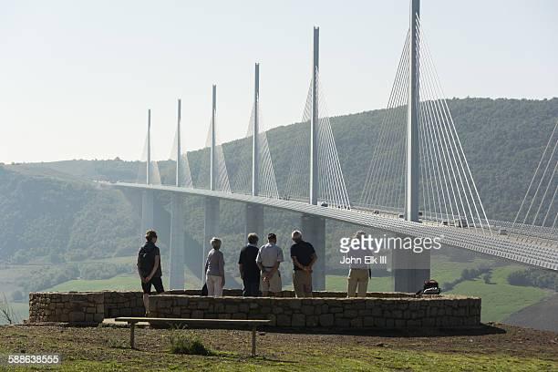 pont du gard, millau viaduct - aveyron stock pictures, royalty-free photos & images