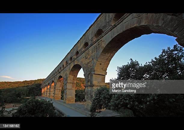 pont du gard - ポン・デュ・ガール ストックフォトと画像