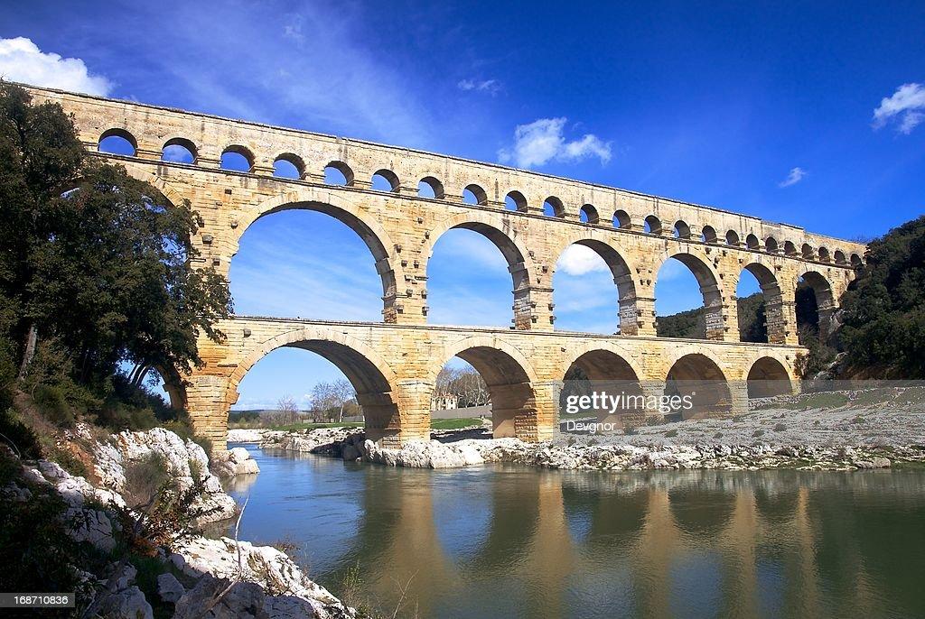 Pont du Gard : Stock Photo