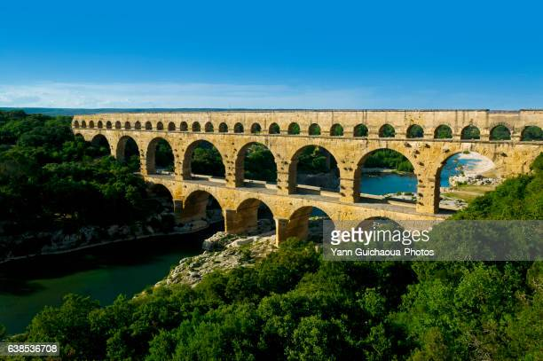 Pont Du Gard, Roman Bridge, Nimes, France