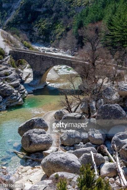pont romain - alain bachellier photos et images de collection
