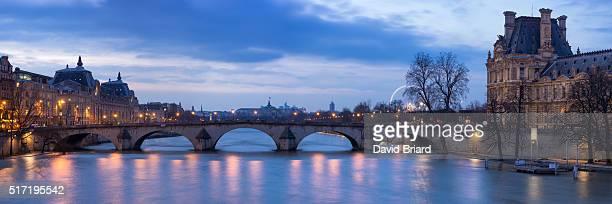 Pont Royal at dusk