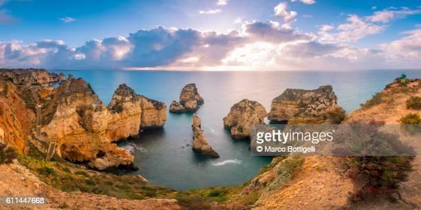 Ponta da Piedade, Lagos, Algarve, Portugal.