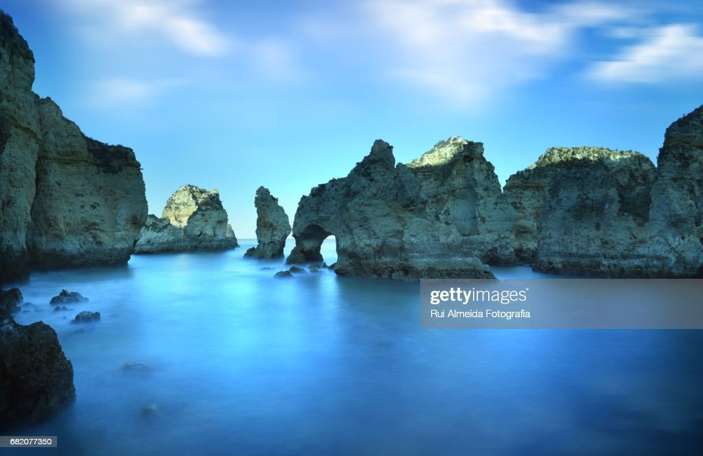 Ponta da Piedade, Lagos, Portugal : Stock Photo