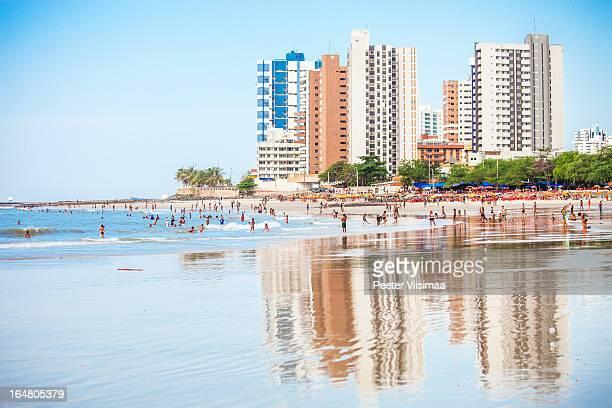 ponta d'areia beach. - maranhao state stock pictures, royalty-free photos & images