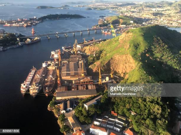Ponta D'Areia , Niteroi , Rio de Janeiro State , Brazil