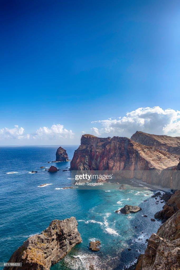 Ponta de São Lourenço • Madeira coastline : Stock Photo