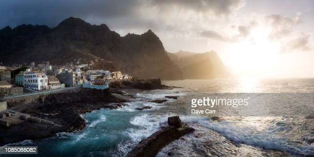 ponta do sol - cape verde stock pictures, royalty-free photos & images
