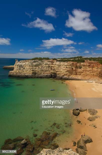Pontal Beach Praia do Pontal Near to Albandeira Beach Arma�ao de Pera Algarve Portugal