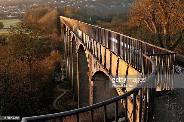Pontcysyllte Aqueduct at Sunrise