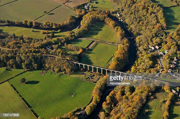 Pontcysyllte Aqueduct from the air