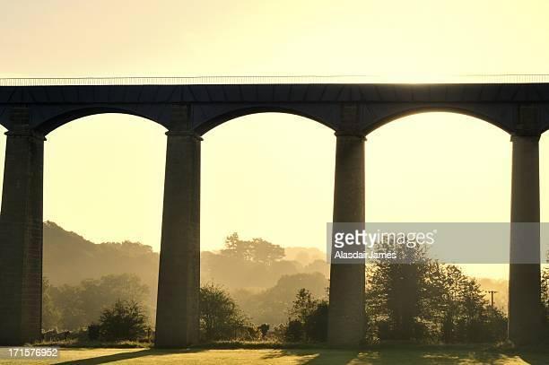 Pontcysyllte Aqueduct sunrise