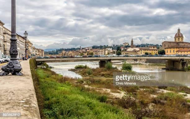 Ponte Amerigo Vespucci and Pescaia di Santa Rosa
