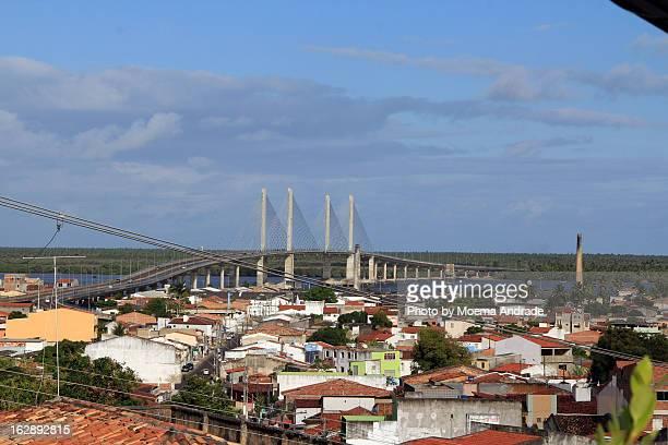 ponte aracaju-barra do coqueiros - brasil sergipe aracaju - fotografias e filmes do acervo