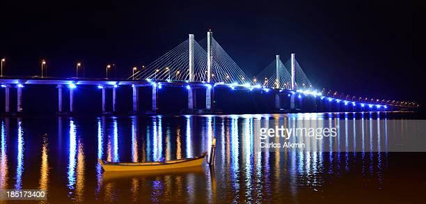 ponte construtor joão alves - aracaju-sergipe - br - brasil sergipe aracaju - fotografias e filmes do acervo