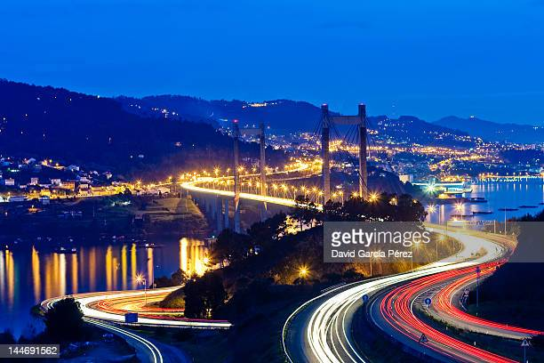 ponte de rande - vigo stock pictures, royalty-free photos & images