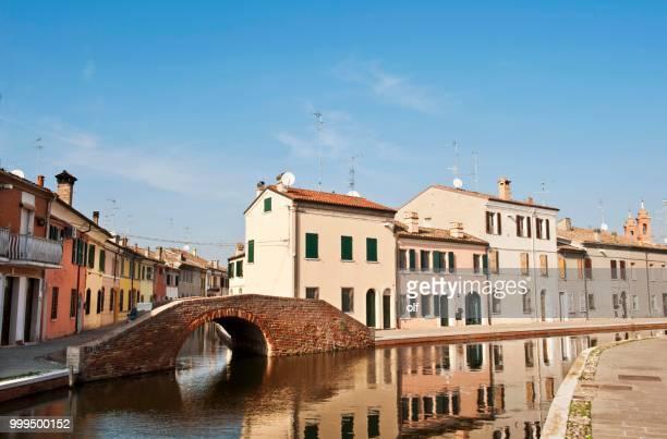 Ponte dei Sisti, Comacchio, Ferrara, Emilia Romagna, Italy