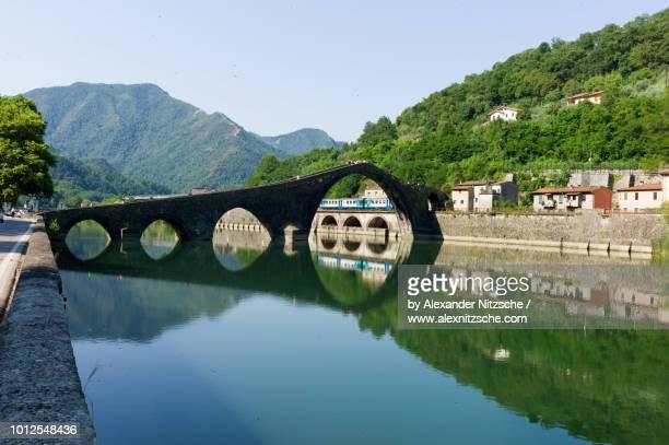 Ponte della Maddalena in the Italian province of Lucca