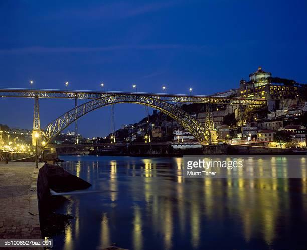 Ponte Dom Luis I Bridge over Douro River