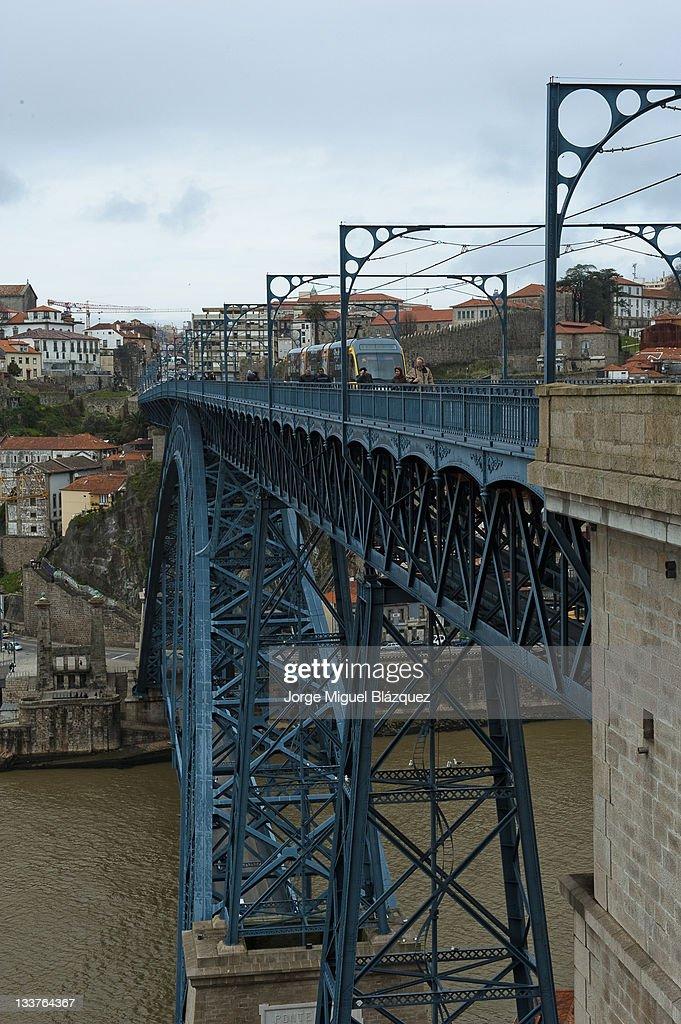 Ponte Dom Luis : Foto de stock