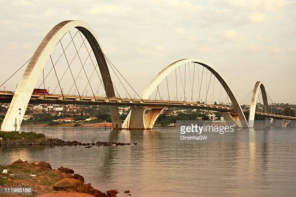 ponte jk,  brasília - distrito federal brasilia stock pictures, royalty-free photos & images