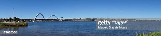 ponte jk - lago paranoá - moura stock photos and pictures