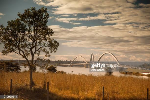 Ponte Juscelino Kubitschek bridge in Brasilia