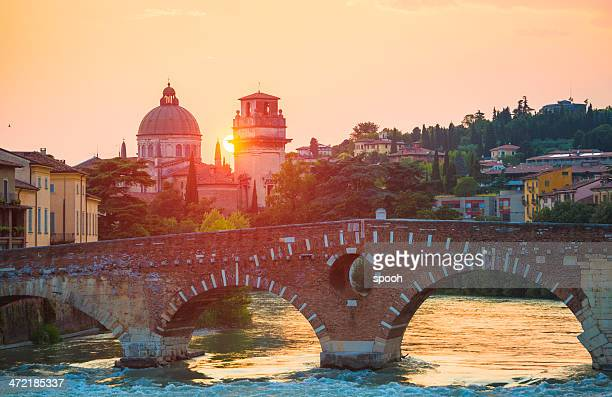 ponte pietra, verona, italy - veneto stock pictures, royalty-free photos & images