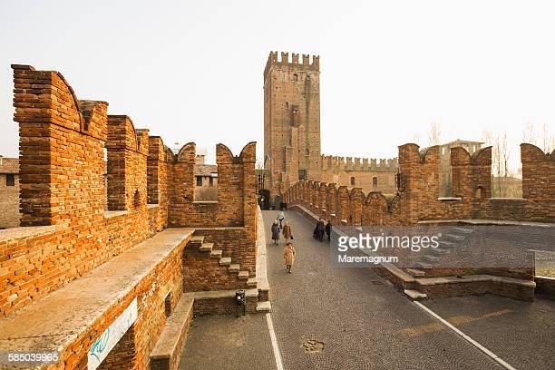 Ponte (bridge) Scaligero, Castel (castle) Vecchio