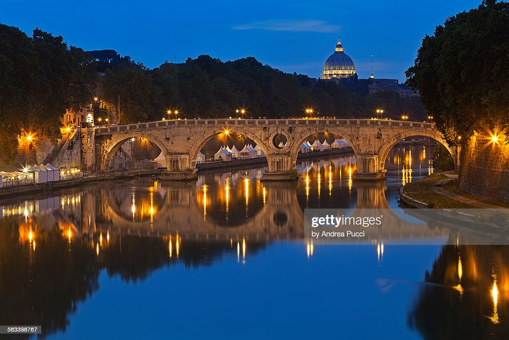 Ponte Sisto, Lazio, Rome, Italy : Stock Photo