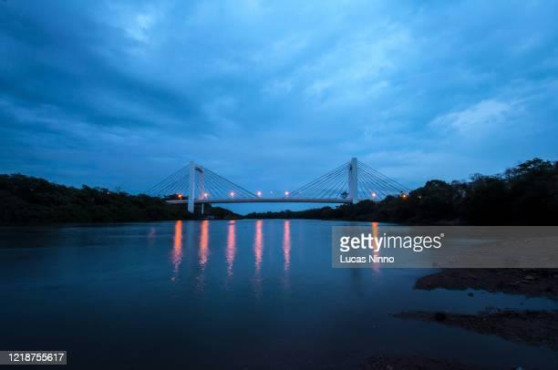 ponte sérgio motta - sergio motta bridge - クイアバ ストックフォトと画像