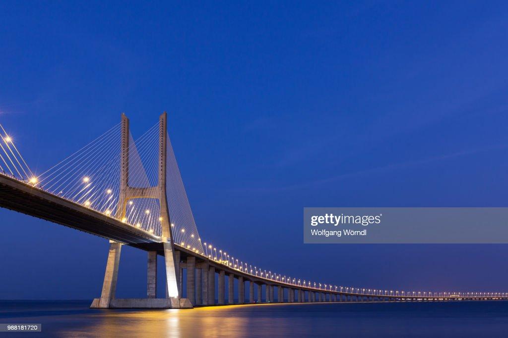 Ponte Vasco da Gama : Stock-Foto