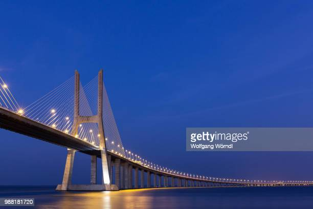 ponte vasco da gama - wolfgang wörndl stock pictures, royalty-free photos & images