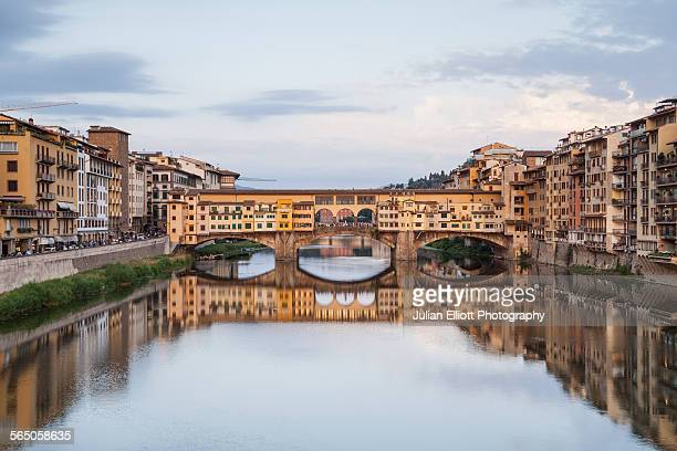 Ponte Vecchio and the River Arno, Florence