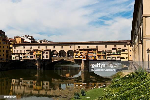 ponte vecchio - jacopo caggiano stock pictures, royalty-free photos & images