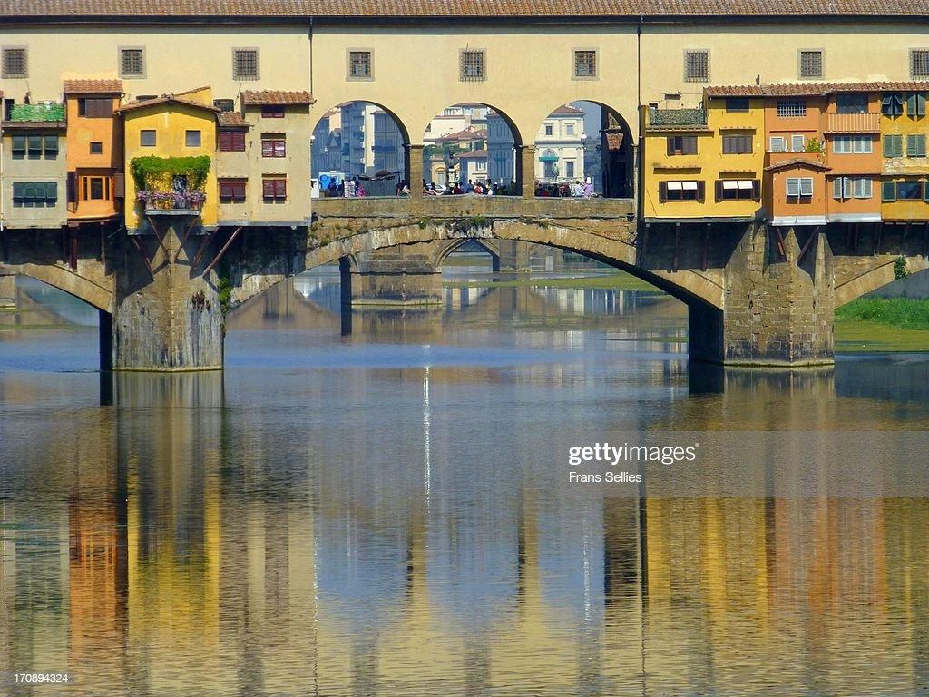 Ponte Vecchio : Stockfoto