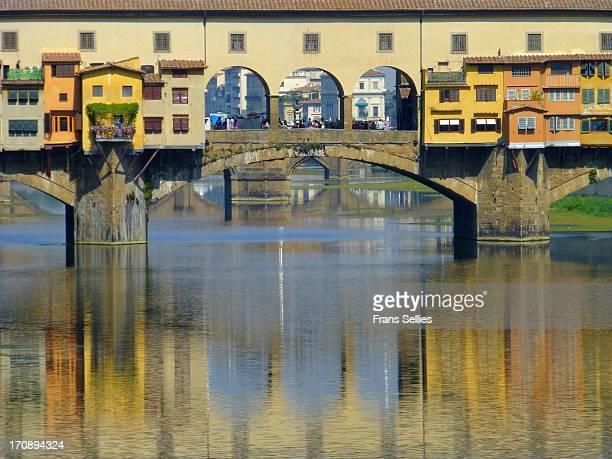 ponte vecchio - frans sellies stockfoto's en -beelden