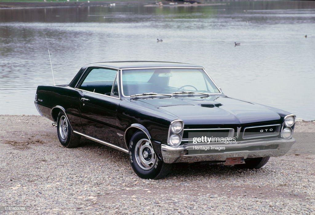 1965 Pontiac Gto. Creator: Unknown. : News Photo
