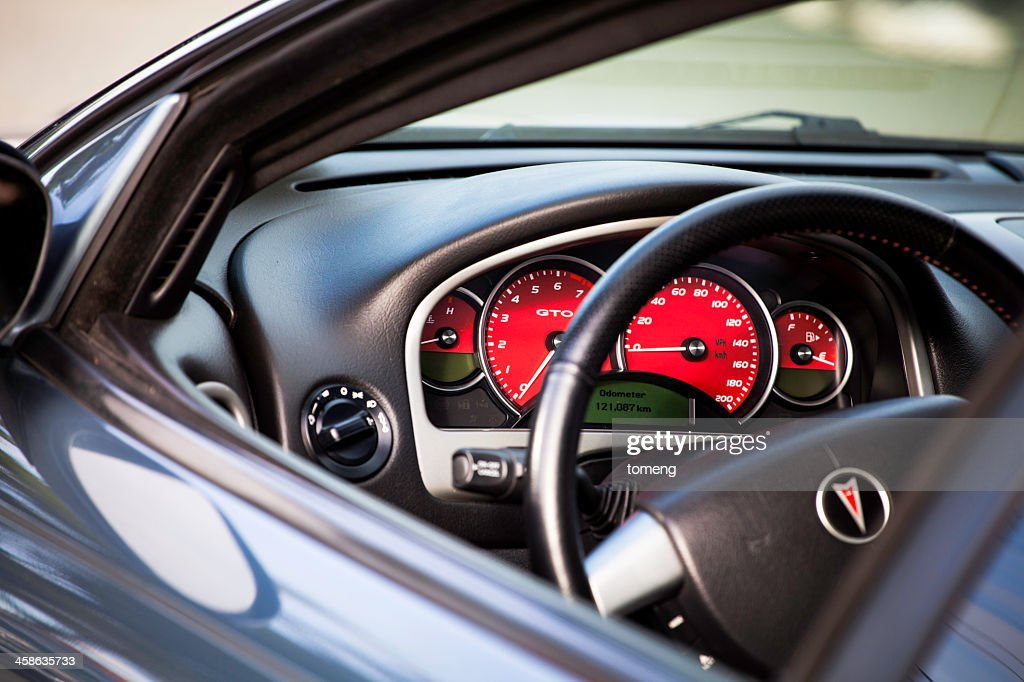Pontiac GTO Interior : Stock Photo