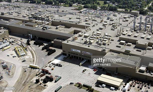 General Motors Pontiac assembly plant 13 July in Pontiac Michigan The chief executive of Renault and Nissan Carlos Ghosn said that an alliance with...