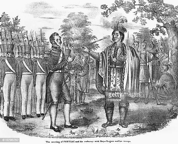 Pontiac was an Ottawan Indian chief He made peace with the British in 1766