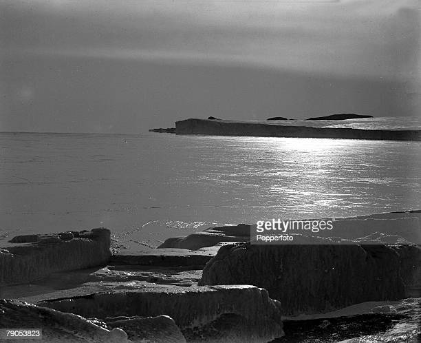HG Ponting Captain Scotts Antarctic Expedition 1910 1912 3rd March A view looking towards Cape Barne from Cape Evans