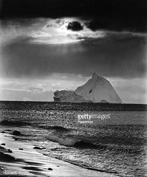 HG Ponting Captain Scotts Antarctic Expedition 1910 1912 March An iceberg off Cape Evans