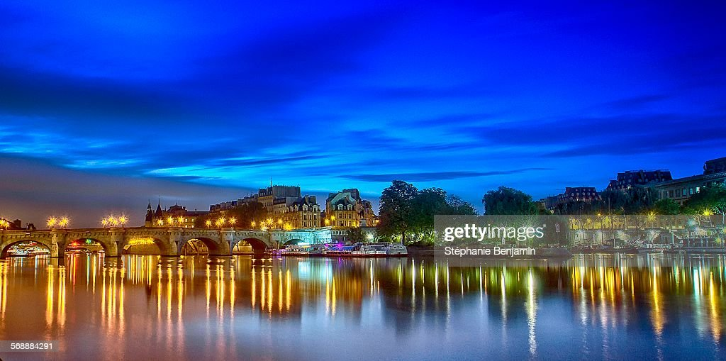 Pont-Neuf,Ile de la Cité : Stock Photo