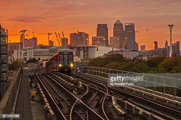 Pontoon Dock DLR Station, London, United Kingdom