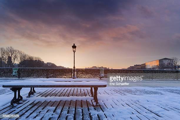 Ponts des Arts in winter